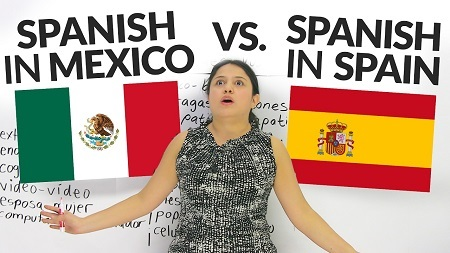 Mexican Spanish Vs. Spain Spanish