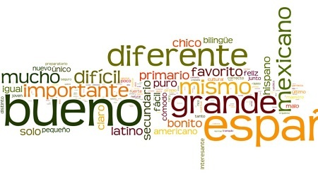 Spanish vocabulary - adjectives