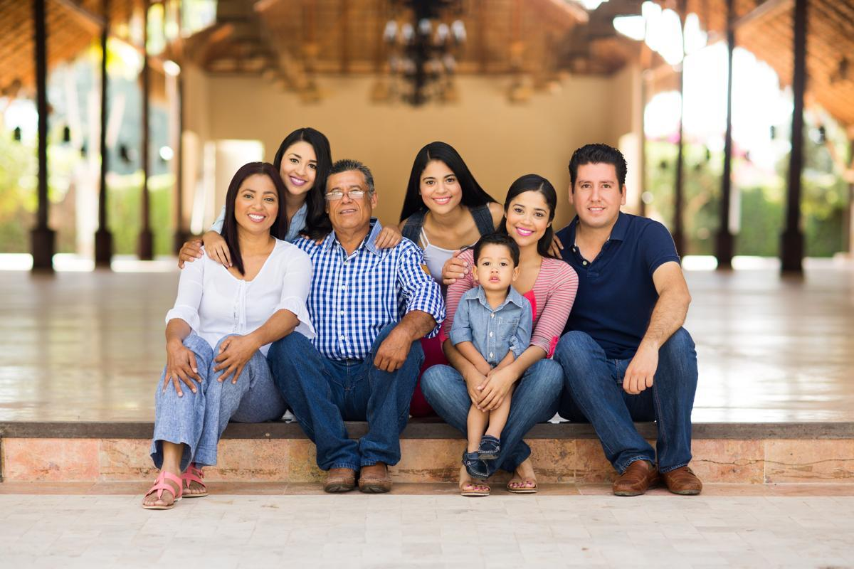 Hispanic family Nuclear